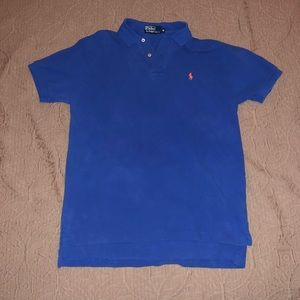 Polo Blue Shirt Size Medium